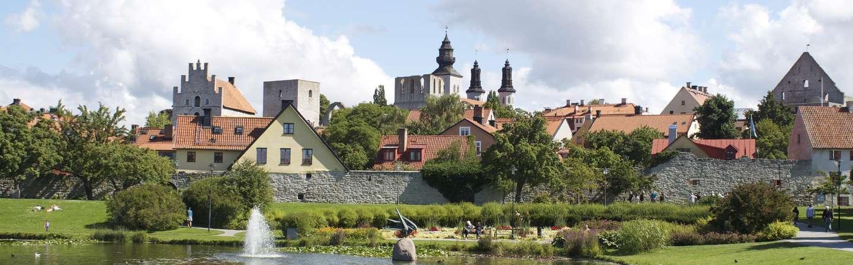 Schweden Urlaub in Visby auf Gotland